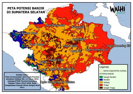 Tinjauan Lingkungan Hidup Sumatera Selatan